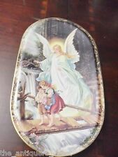 "Bradford Exchange Guardian Angel German Plaque,  ""Behuteter Heimweg""[2-esq]"