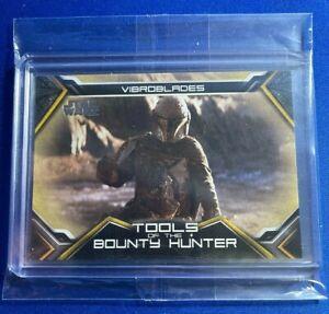 2020 Topps Star Wars The Mandalorian Tools of the Bounty Hunter #TB-7 GOLD #/10