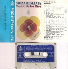 WALDO  DE LOS RIOS  MOZARTMANIA CASSETTE SPANISH EDITION  SPAIN PAPER LABEL 1971