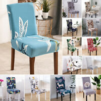 Spandex Elastic Stretch Chair Seat Cover Slipcover Dining Room Wedding Decor
