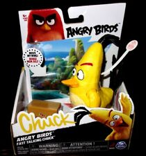 Angry Birds - Fast Talking Chuck- Surprisingly Cheerful  Action Figure New