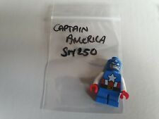 LEGO Super Heroes Captain America Short legs Minifig SH250 76065 Mighty Micros