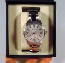 Bulova Corporate Collection Men's Silver Bracelet Watch 96A154 Christmas Gift