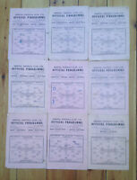 Arsenal home programmes  1945/46