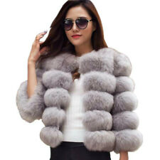 Mink Coats Women Winter Pink Faux Fur Coat Elegant Outerwear Fake Fur Jacket