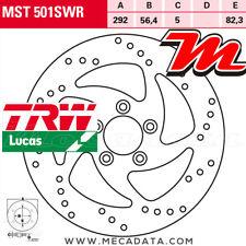 Disque de frein Arrière TRW MST501SWR Harley FXSTB 1584 Night Train (FS2) 2008