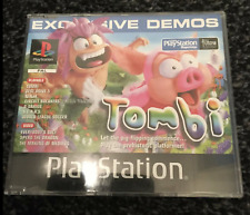 Playstation PS1 Magazine Demo Disc 37 Tombi