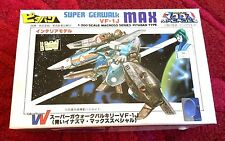 Macross Vf-1J Super Gerwalk Max Blue 1/200 Pitaban Kit Vintage Oop New Robotech