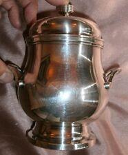 Sucrier en métal argenté et intérieur doré état superbe état