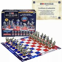 🆕 2020 Battle for The White House Chess Set Board Game Republican v. Democrat