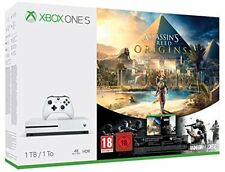 MICROSOFT CONSOLE XBOX ONE S 1TB + ASSASSIN'S CREED ORIGINS + RAINBOW SIX SIEGE