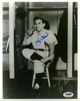 Yogi Berra Psa Dna Coa Autograph 8x10 Yoo Hoo Photo  Hand Signed Authentic
