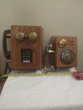 TeleConcepts Wall phone Model Country wall telephone microcommunications inc lot