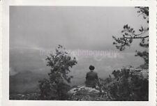 AWESTRUCK Vintage GRAND CANYON FOUND PHOTO bw Original Snapshot 811 29 I