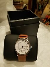 Marc Jacobs Analog Roxy Leather Strap Watch-BROWN NWT $175