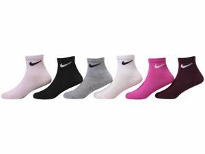 Nike Toddler/Little Boy's Crew Socks 6-Pairs Lightweight