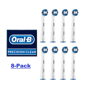 Braun ORAL B Precision Clean Toothbrush Replacement Brush Heads Refill