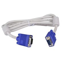 6Ft (6 Feet) 15-pin VGA/SVGA (M) to (M) Video Cable w/Dual Ferrites