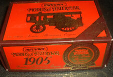 MATCHBOX MODELS OF YESTERYEAR Y-21-1905 FOWLER SHOWMANS ENGINE LIMITED EDITION
