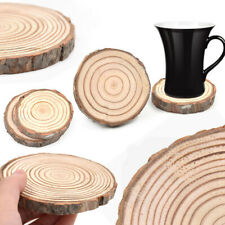 Multi-sizes Natural Wooden Home Decor Cup Pad Table Mug Mat Wood Coasters