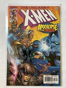 Uncanny X Men 377 Marvel Comics 2000 VF NM 8.5 - 9.0 Apocalypse / Twelve Variant