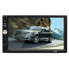 7inch DOUBLE 2DIN Car MP5 Player BT Tou+ch Screen Stereo Radio HD+Camera B1D9