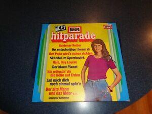 LP     Hitparade Nr. 45 Orchester Udo Reichel Gesungene Aufnahmen  EUROPA