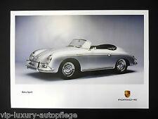 Porsche poster 911typ 356 speedster CABRIOLET reprint 2013 taille: 42 x 59,5 CM
