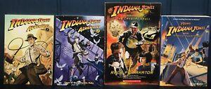 Indiana Jones Adventures volume 1 & 2 Dark Horse graphic novel + 2 Books