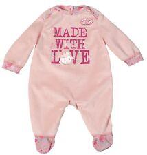 Baby Annabell Strampler, Puppenkleider mit Aufdruck, Zapf Creation 794548