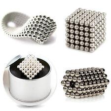 Magnetic Balls Square Cube 216pcs /5mm Magic DIY 3D Puzzle Magnet EDC Toys
