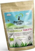 Organic Chlorella Tablets - High in Chlorophyll, Protein, Iron and Amino Acids -