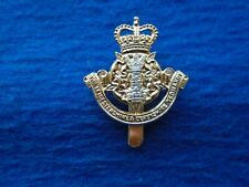 LEICESTERSHIRE & DERBYSHIRE YEOMANRY ANODISED STAYBRITE CAP BADGE, J.R. GAUNT