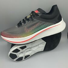 Nike Zoom Fly SP Fast Running Shoes BV6105-001 Black Red White Men's Size 12