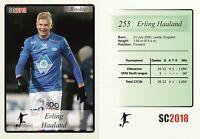 2018 SC #255 Erling Haaland Molde Borussia Dortmund Norway Rookie