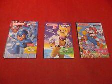 Super Mario Mega Man Star Fox Nintendo Kellogg's Apple Jacks Cereal Prize 1993