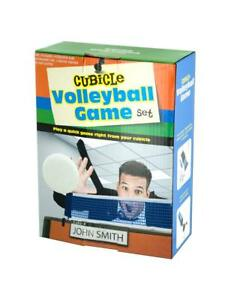 CUBICAL VOLLEY BALL SET …FUN IN THE OFFICE.  GREAT GAG GIFT