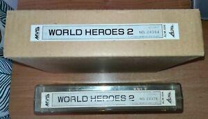 WORLD HEROES 2 - SNK NEO GEO MVS *ORIGINAL* *100% WORKING* *BEST OFFER* *TRACKED