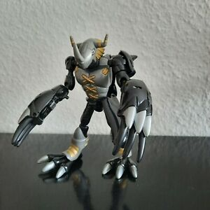 Digimon Blackwargreymon unvollständig BlackAgumon Digivolving Figur Wargreymon