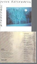 CD-PETER RATZENBECK--NIGHTFALL MIT AUTOGRAMM