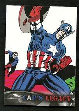 2014 Upper Deck CAPTAIN AMERICA The Winter Soldier Cap's Legacy # CL-2