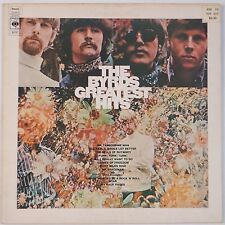 THE BYRDS: Greatest Hits UK CBS A1/B1 vinyl lp PSYCH VG++