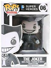 Funko Pop The Joker Black and White # 06 DC Comics Exclusive Slightly Damaged