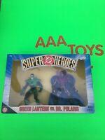 DC Hasbro Super Heroes Green Lantern Vs Dr Polaris  Figures