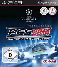 Pro Evolution Soccer 2014 PES 2014 PS3 Playstation 3 NUOVO + conf. orig.