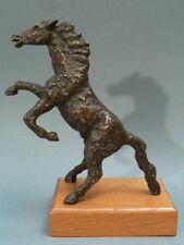 Bronzo personaggio A. raccolta risoluzione giovane cavallo puledri-Friedrich Haufe 1979 #5