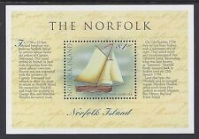 1998 NORFOLK ISLAND THE NORFOLK SLOOP MINISHEET FINE MINT MNH/MUH