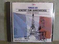 YAMAHA- Konzert zum Jahreswechsel 97/98- L´Esprit de France WIE NEU