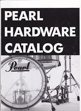 VINTAGE MUSICAL INSTRUMENT CATALOG #10545 - 1993 PEARL DRUM HARDWARE