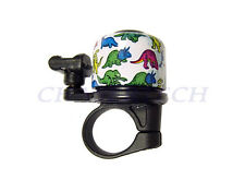 New Bicycle Bike Aluminum Alloy Mini Bell w/ Dinosaur Design